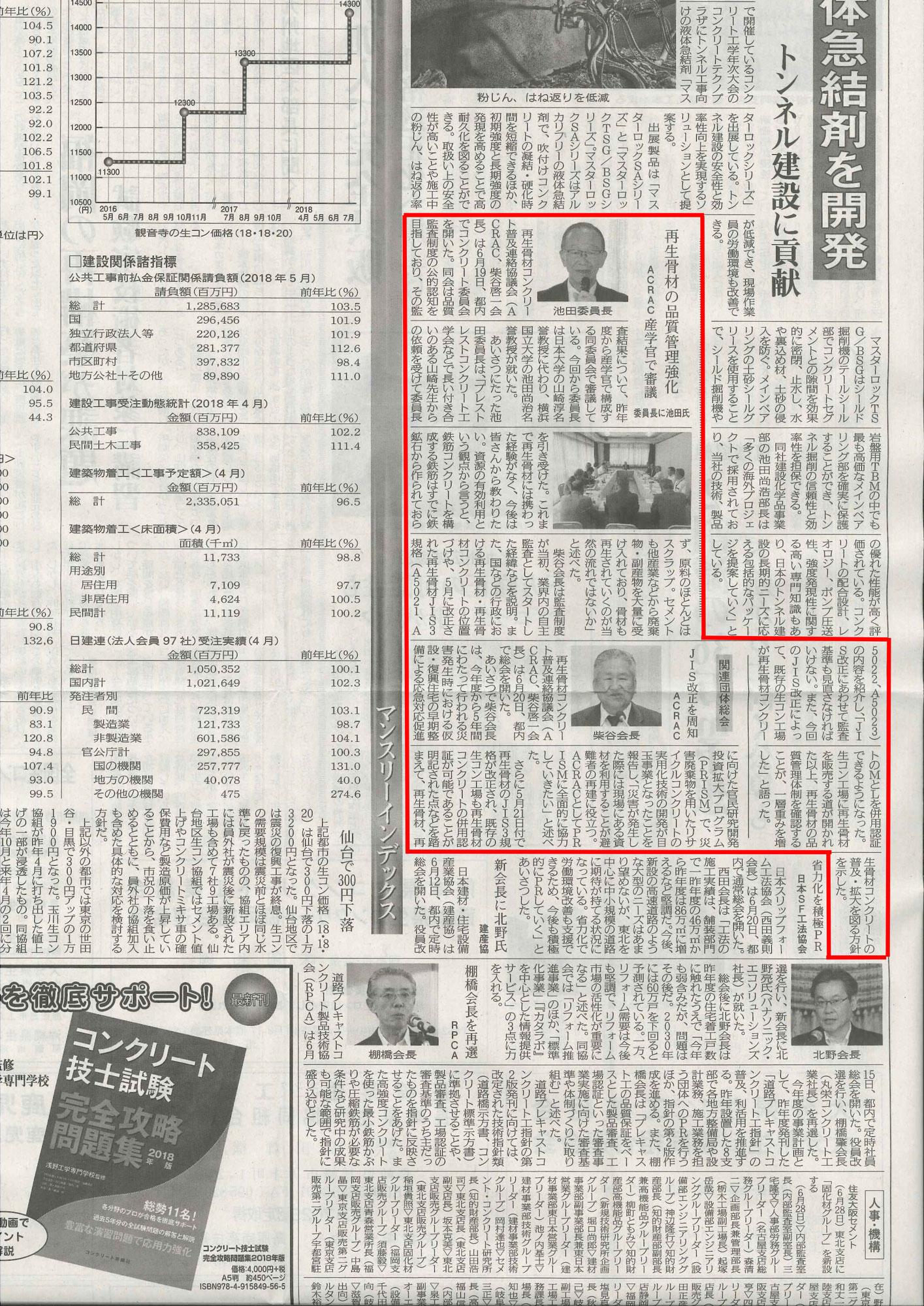 コンクリート新聞